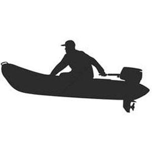 Номер на лодку пвх